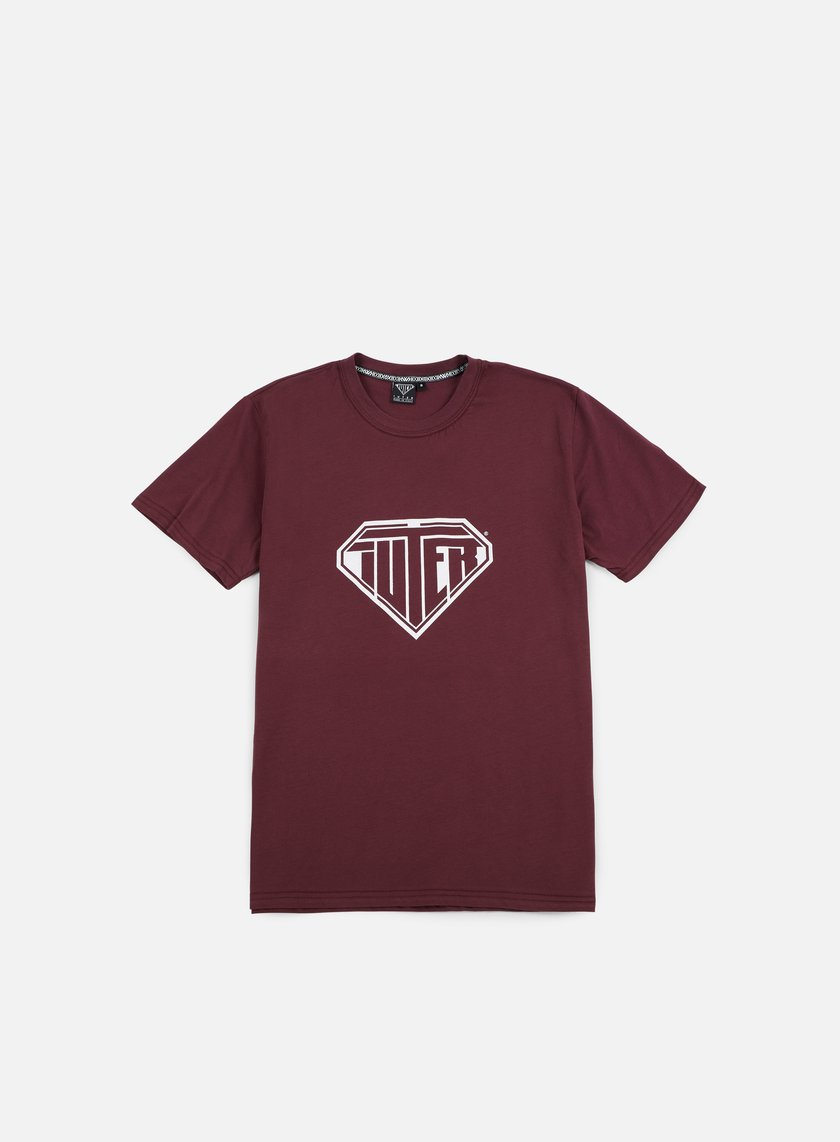Iuter - Logo T-shirt, Bordeaux