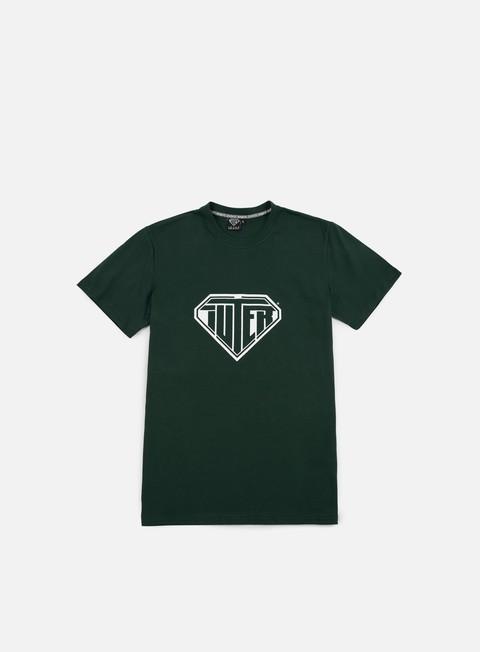 t shirt iuter logo t shirt green