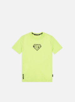 Iuter - Logo T-shirt, Neon Yellow