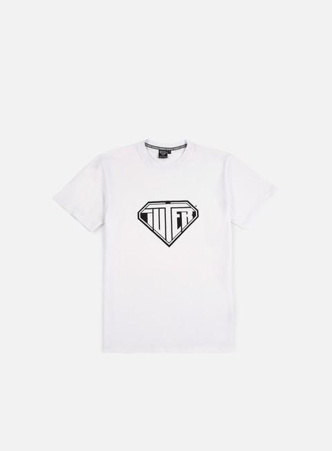 t shirt iuter logo t shirt white
