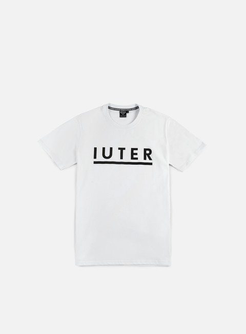 t shirt iuter logotype t shirt white