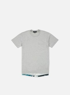 Iuter - Lower Pocket T-shirt, Light Grey
