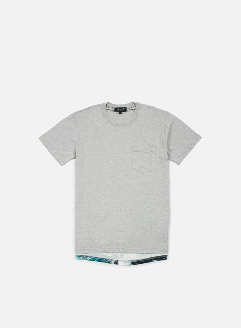 t shirt iuter lower pocket t shirt light grey