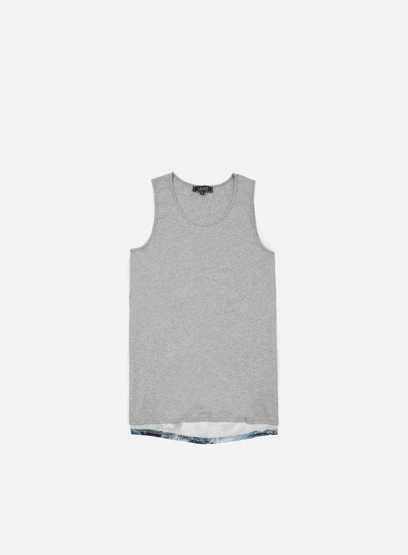 Iuter - Lower Tank Top, Light Grey