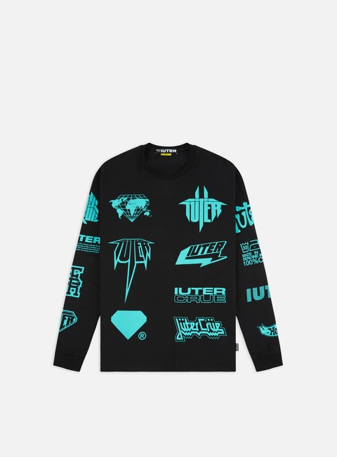 Outlet e Saldi T-shirt a Manica Lunga Iuter Megahorns LS T-shirt