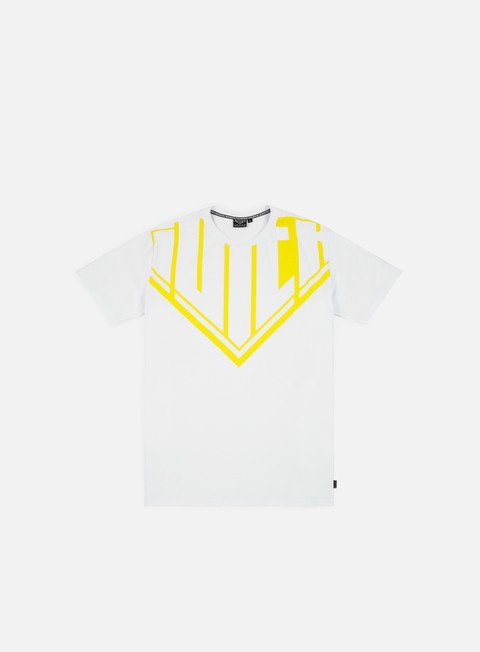 t shirt iuter megalogo t shirt white yellow