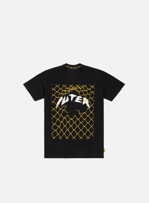 t shirt iuter net t shirt black yellow