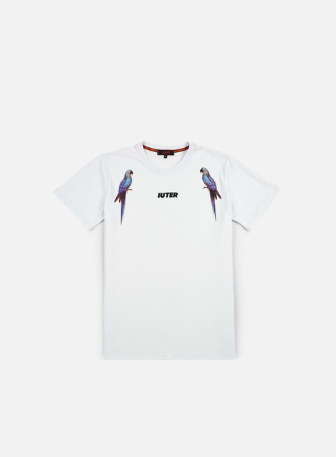t shirt iuter parrot digi t shirt white