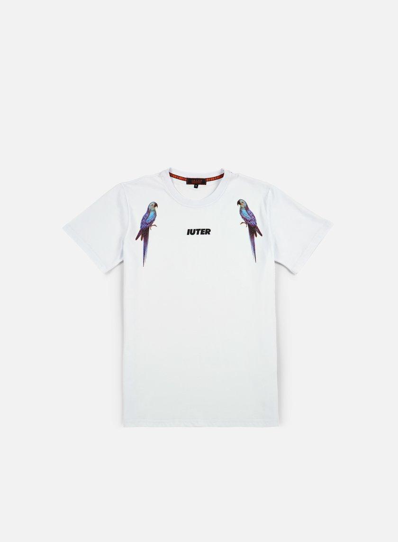 Iuter - Parrot Digi T-shirt, White