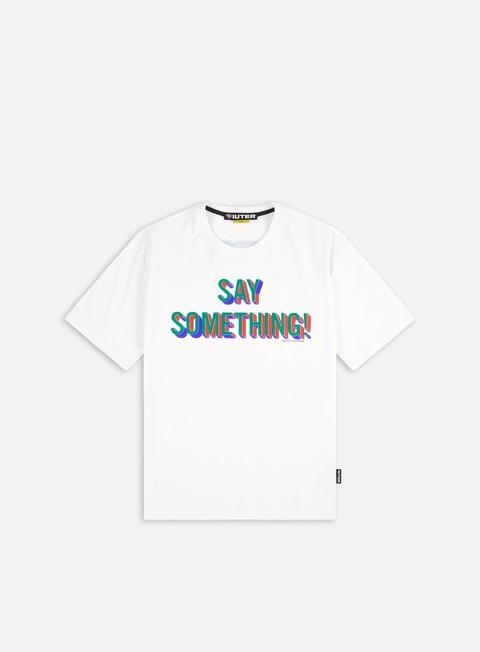 T-shirt a manica corta Iuter Say Something T-shirt