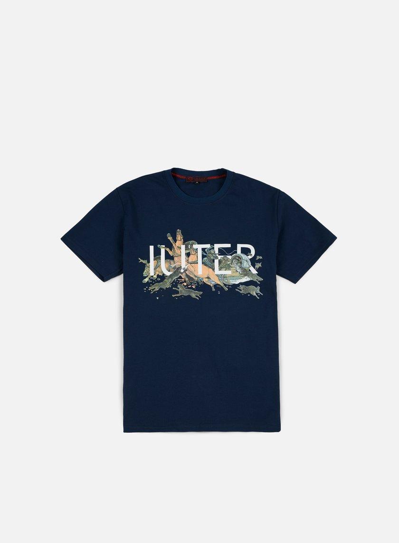 Iuter - Siberia T-shirt, Deep Blue