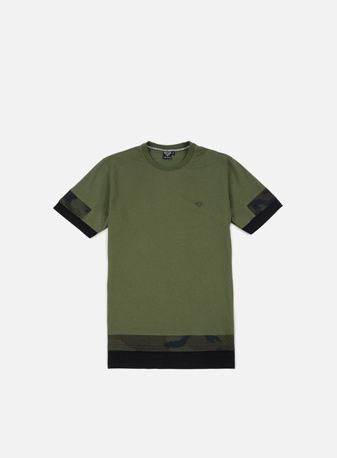 Outlet e Saldi T-shirt a Manica Corta Iuter Stock Break Camo T-shirt