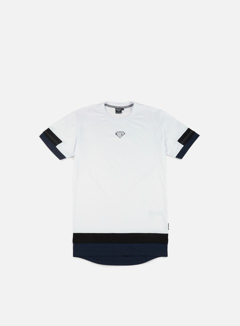 t shirt iuter stock break line t shirt white