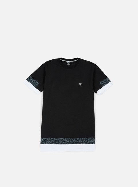 t shirt iuter stock break multilogo t shirt black