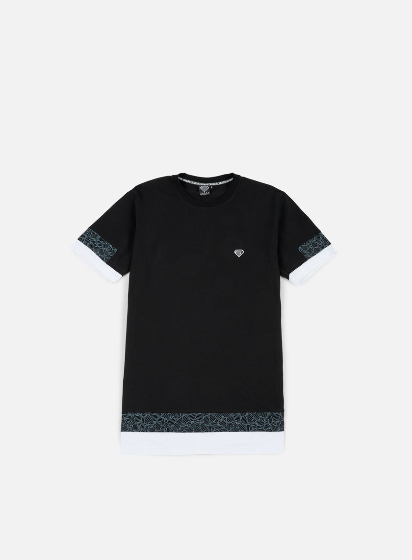 Iuter - Stock Break Multilogo T-shirt, Black