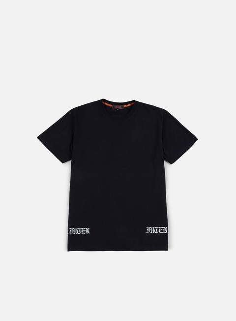 t shirt iuter two color back t shirt black