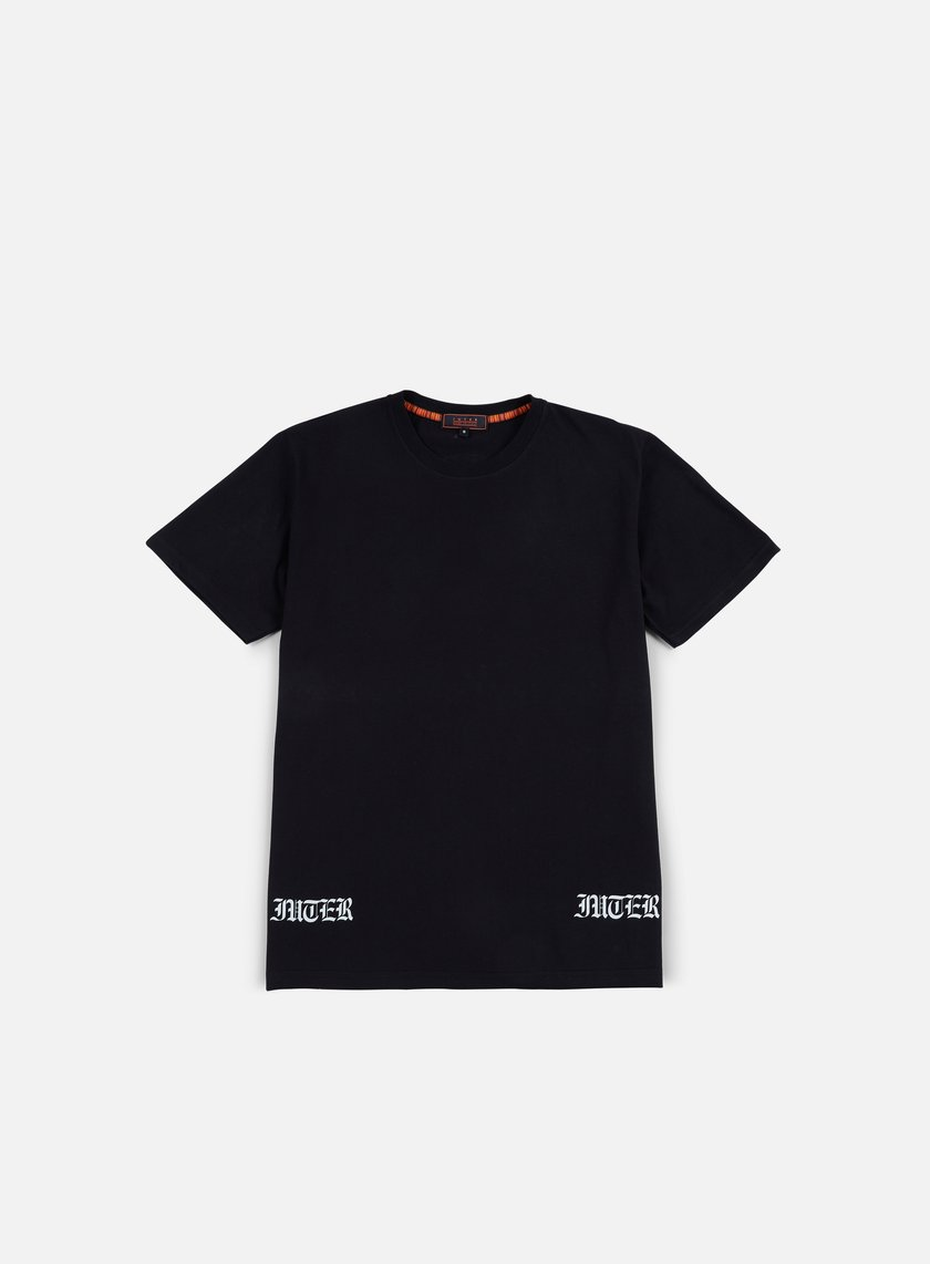 Iuter - Two Color Back T-shirt, Black
