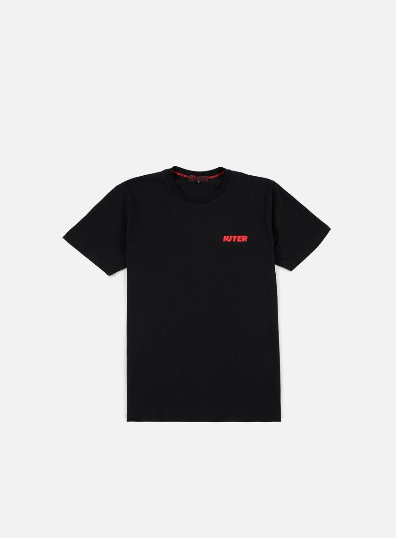 Iuter - Wolf T-shirt, Black