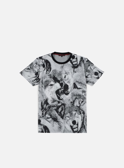 T-shirt con Stampa All Over Iuter Wolves T-shirt