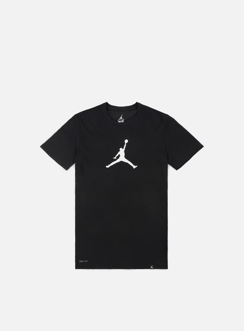 t shirt jordan 23 7 drifit jumpman t shirt black white