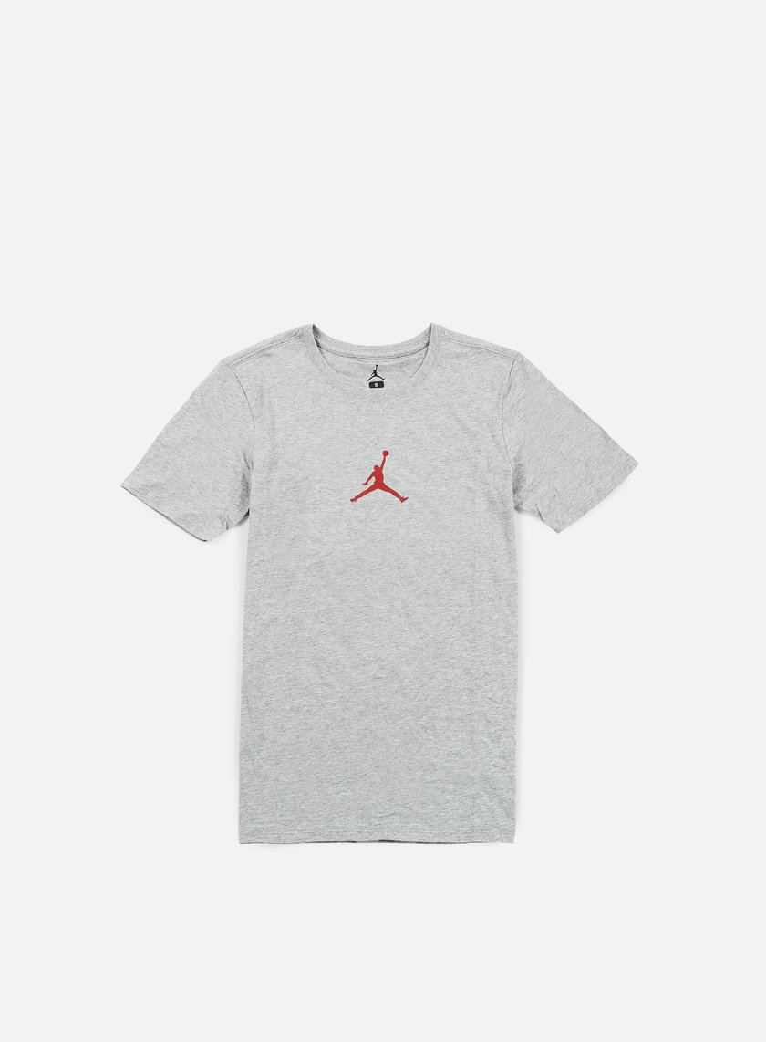 Jordan - 23/7 T-shirt, Dark Grey Heather/Gym Red