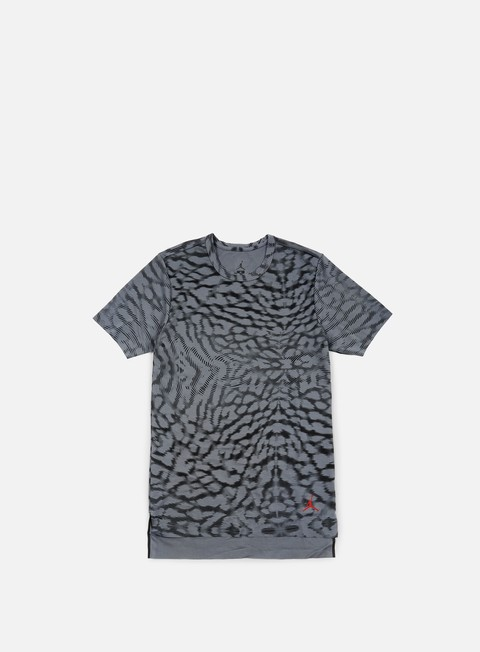 t shirt jordan 23 lux extended t shirt cool grey gym red