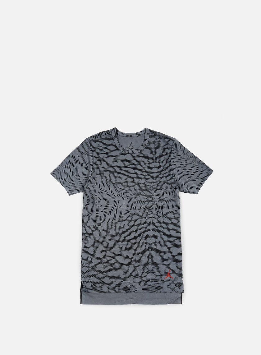 Jordan - 23 Lux Extended T-shirt, Cool Grey/Gym Red