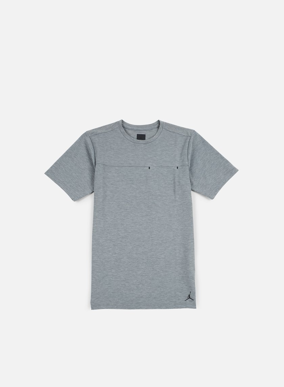 Jordan - 23 Lux Pocket T-shirt, Carbon Heather/Black