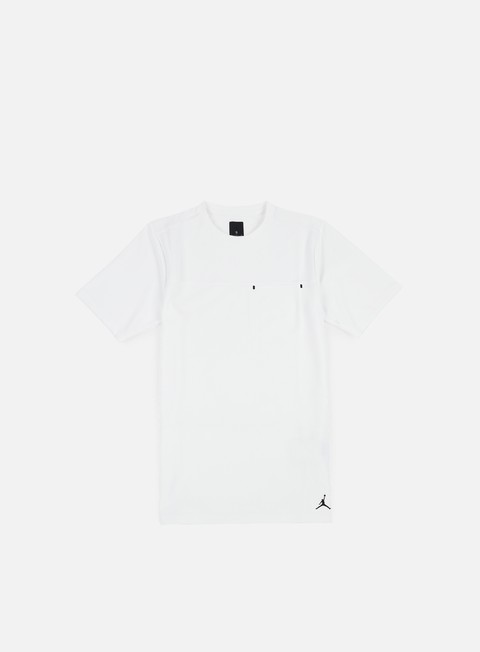 t shirt jordan 23 lux pocket t shirt white black