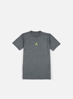 Jordan - 23 Tech T-shirt, Charcoal Heather/Opti Yellow