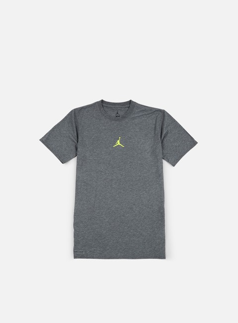t shirt jordan 23 tech t shirt charcoal heather opti yellow