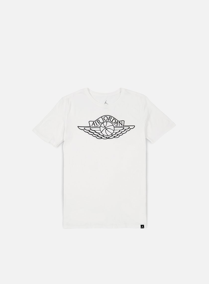 Jordan - 5 Brand T-shirt, White/Black