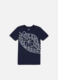 Jordan - Air Jordan Wingspan T-shirt, Midnight Navy/Wolf Grey 1