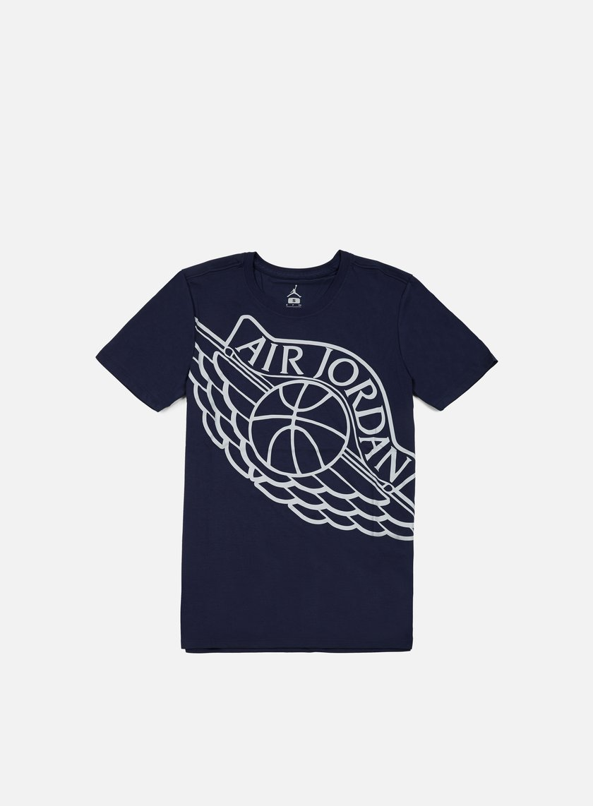... Jordan - Air Jordan Wingspan T-shirt, Midnight Navy/Wolf Grey 1 ...