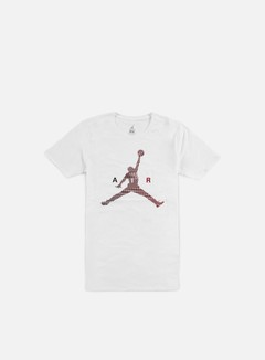 Jordan - Air Jumpman T-shirt, White/Gym Red 1