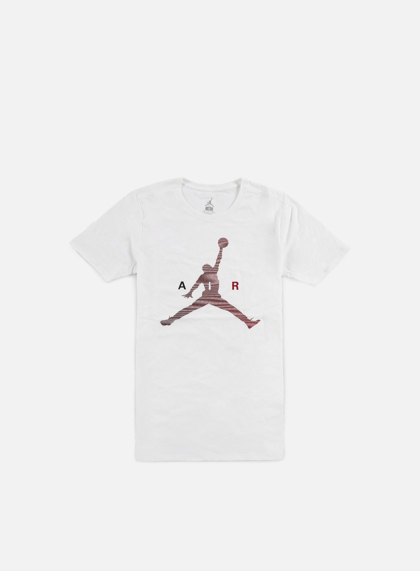 Jordan - Air Jumpman T-shirt, White/Gym Red