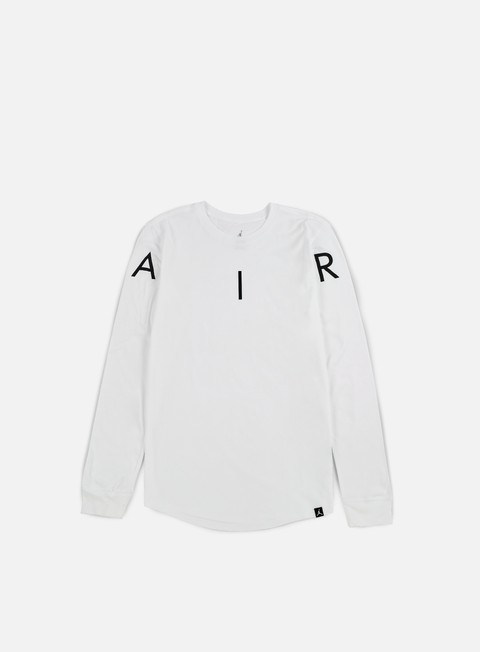 t shirt jordan air ls t shirt white black