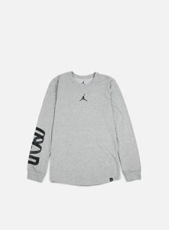Jordan - Air Up 23 LS Dri-Fit T-shirt, Dark Grey Heather 1