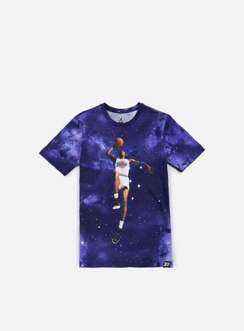 Short Sleeve T-shirts Jordan AJ 11 Galaxy T-shirt