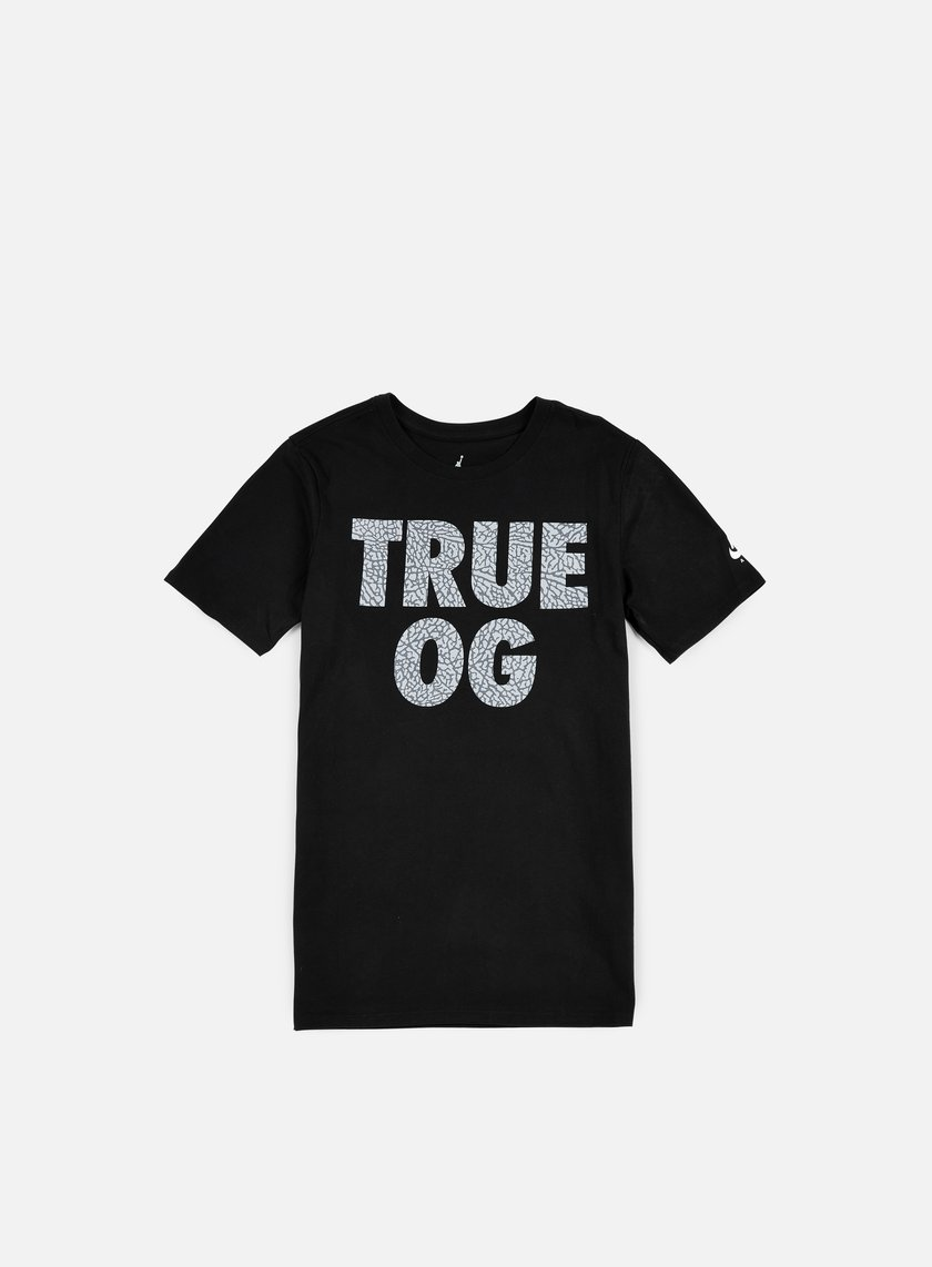 Jordan - AJ 3 True OG T-shirt, Black/White