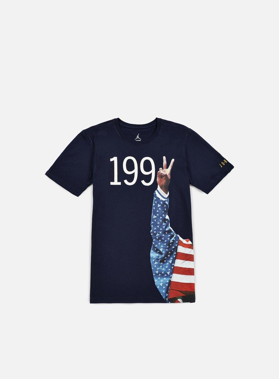 Jordan - AJ 7 1992 Podium T-shirt, Obsidian/White
