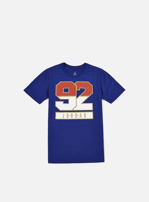 Outlet e Saldi T-shirt a Manica Corta Jordan AJ 7 1992 T-shirt