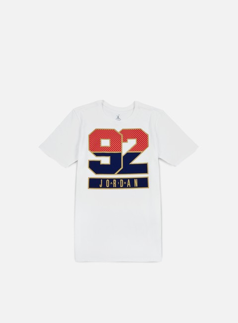 Sale Outlet Short Sleeve T-shirts Jordan AJ 7 1992 T-shirt