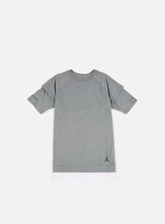 Jordan - AJ13 Double Layer T-shirt, Carbon Heather/White 1