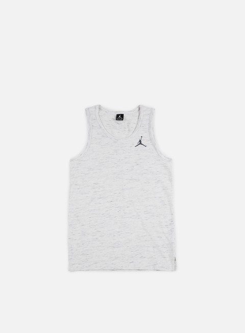 t shirt jordan all star tank black heather cool grey