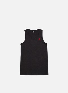 Jordan - All Star Tank, Black Heather/University Red
