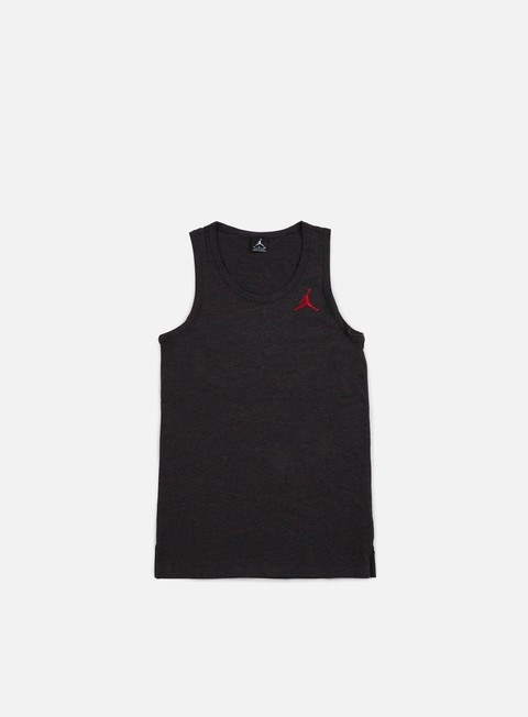 t shirt jordan all star tank black heather university red