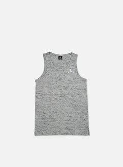 Jordan - All Star Tank, Dark Grey Heather/White