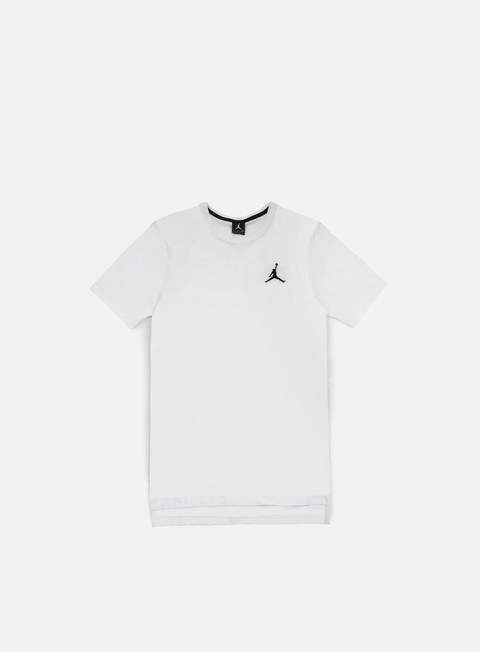 t shirt jordan core long t shirt white black