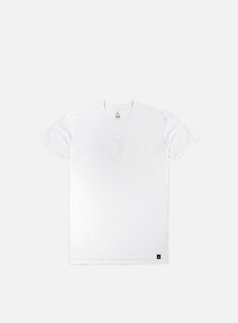 t shirt jordan emboss logo t shirt white